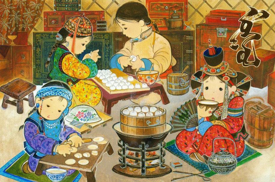 Монгол үндэсний их баяр