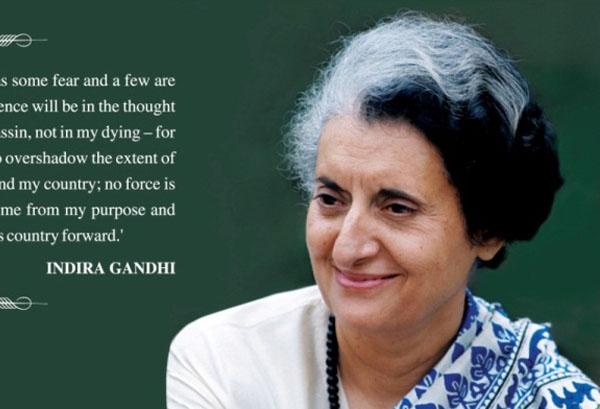 Энэтхэгийн анхны эмэгтэй Ерөнхий сайд Индра Прядаршини Ганди