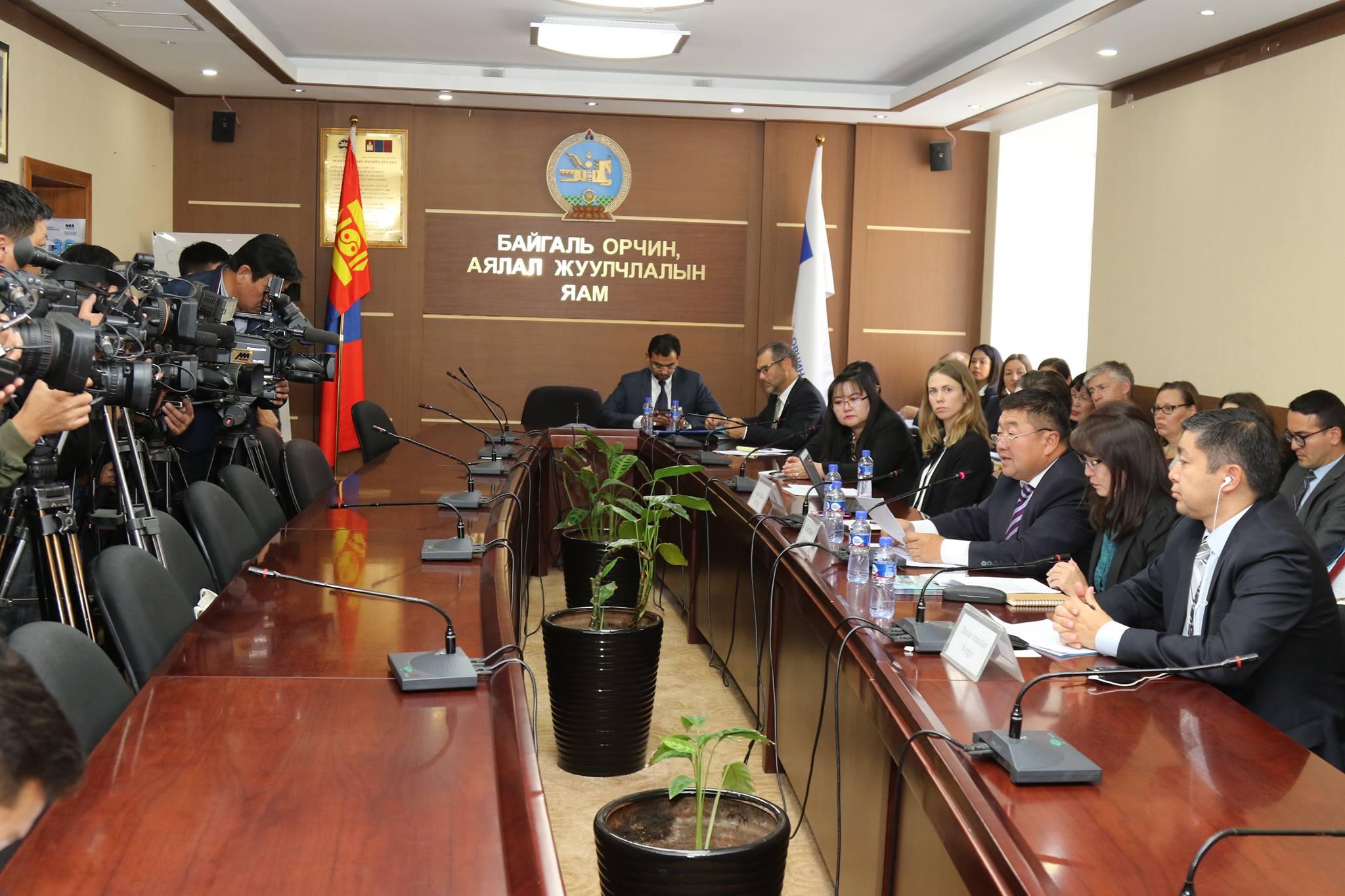 Монгол улс ногоон хөгжлийн үндсээ бусад орнуудад үлгэр дууриалал болохуйц тавьж байгааг онцлов