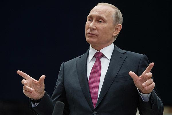 Путины сонгуулийн сурталчилгааны вэбсайт ажиллаж эхэллээ