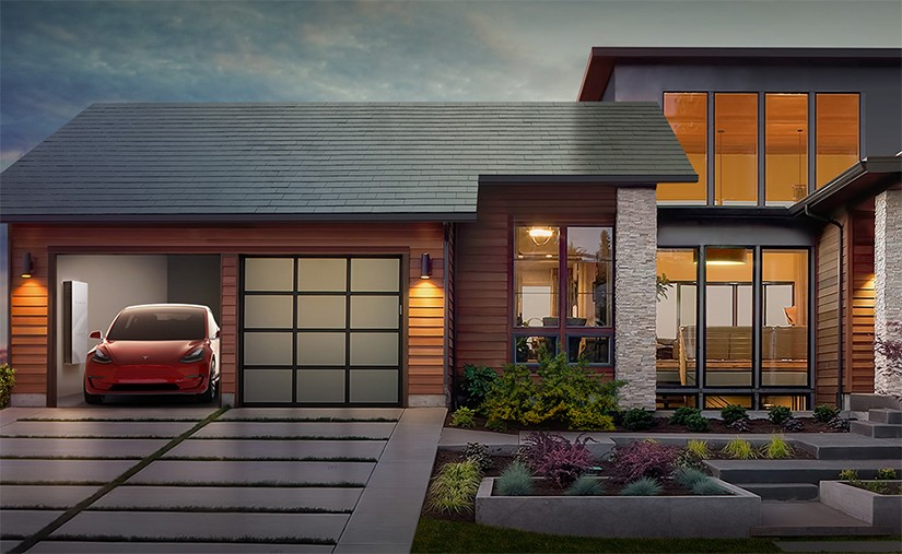 Тесла нарны эрчим хүч цуглуулдаг дээвэр үйлдвэрлэж эхэлжээ