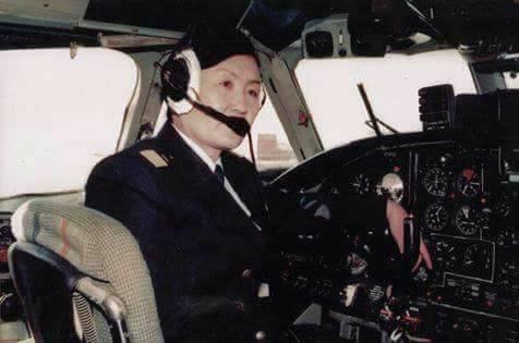 Монголын анхны эмэгтэй нисгэгчдийн нэг