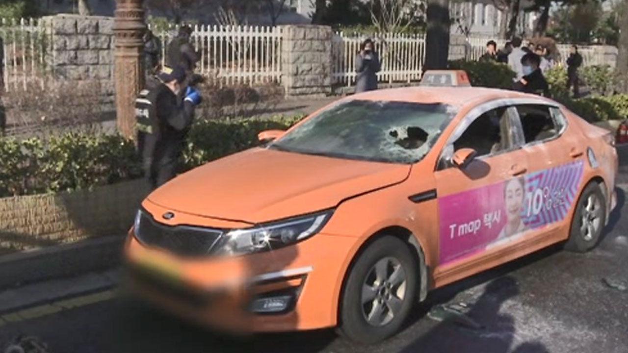 Өмнөд Солонгост таксины шинэ үйлчилгээг эсэргүүцсэн жолооч өөрийгөө шатаажээ